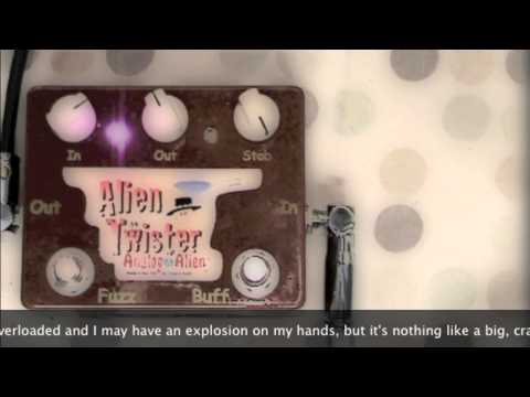 Fuzz Box News – Fuzz Box Girl takes the new Analog Alien – Alien Twister fuzz face pedal for a spin!