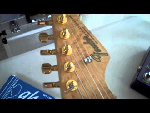 Getting a great SRV tone from a modified Eric Johnson Stratocaster, part-1