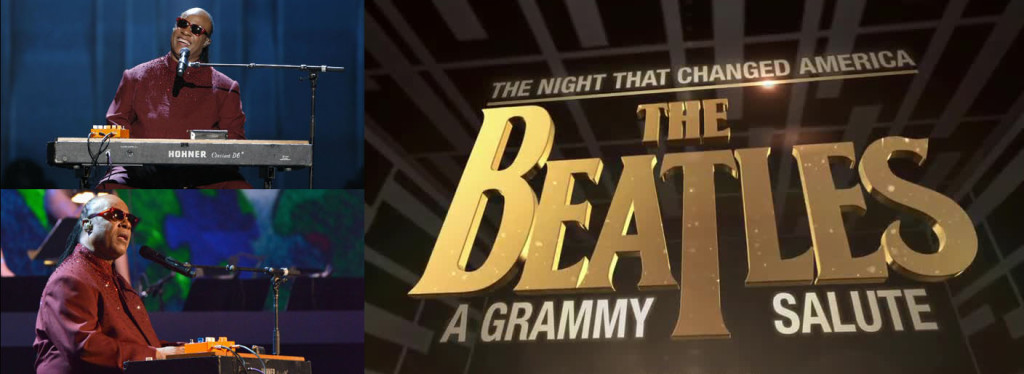 Stevie Wonder Grammy Salute to Beatles