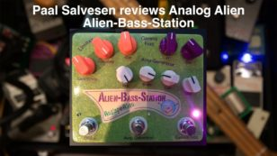 Alien Bass Station Video Review From Norway